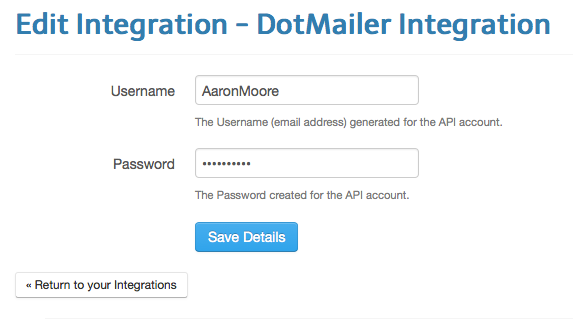 dotmailer-integration