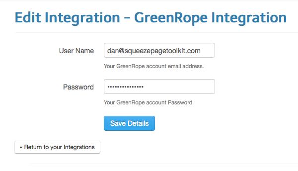 greenrope-integration