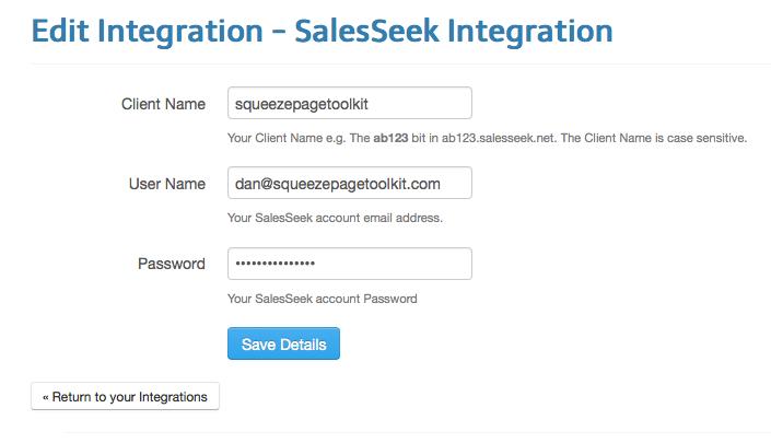 salesseek-integration